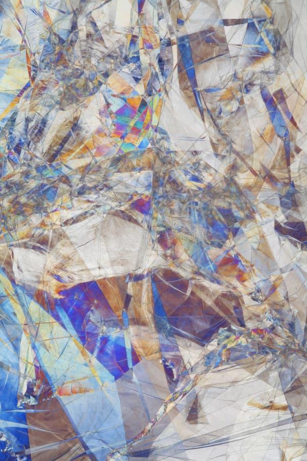 abstracted światło refracted sztuki obraz stock