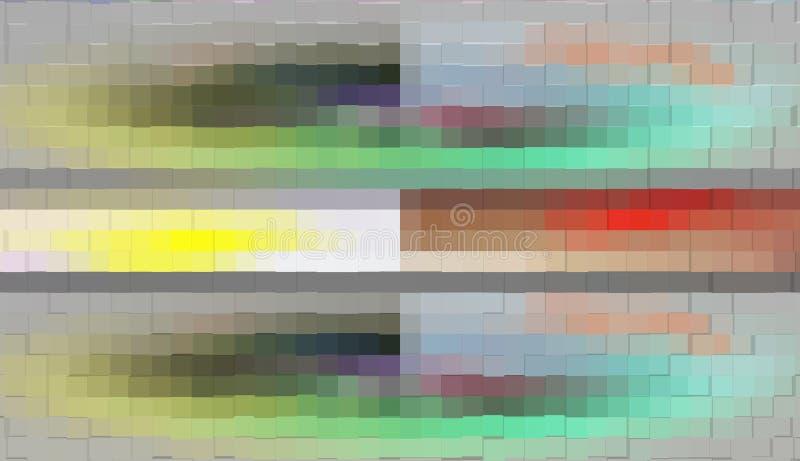 Abstractie Grafische arts. Het schilderen Samenvatting Art royalty-vrije illustratie