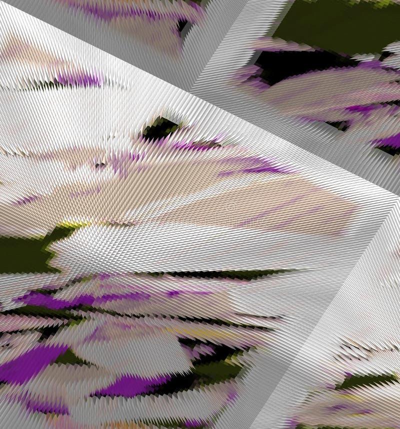 Abstractie Grafische arts. Het schilderen Samenvatting Art vector illustratie