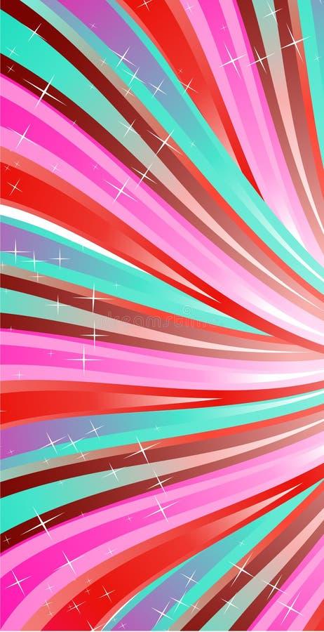Abstractie roze lijnen vector illustratie