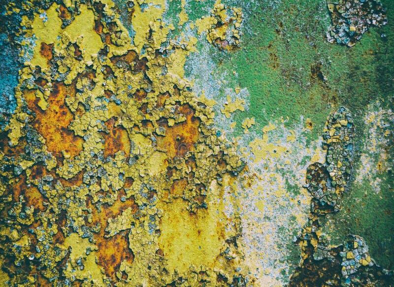Abstractieachtergrond, oude verf royalty-vrije stock afbeelding