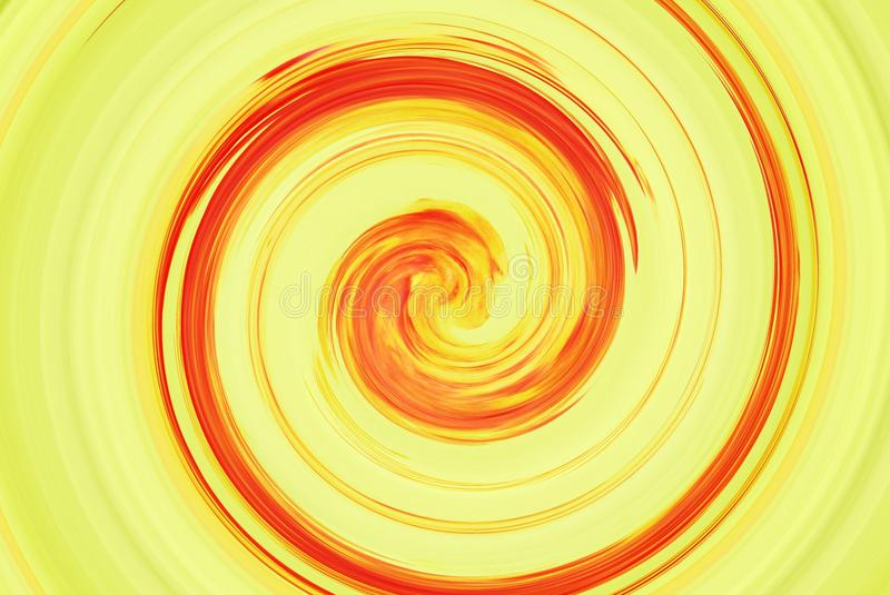 Abstraction in autumn colors. Spiral blur tornado. Effect royalty free stock photo