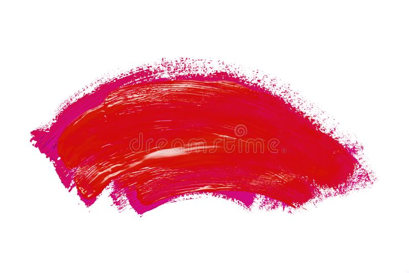 Abstraction for the background, drawing with colorful paints on a white isolated background royalty free stock photos