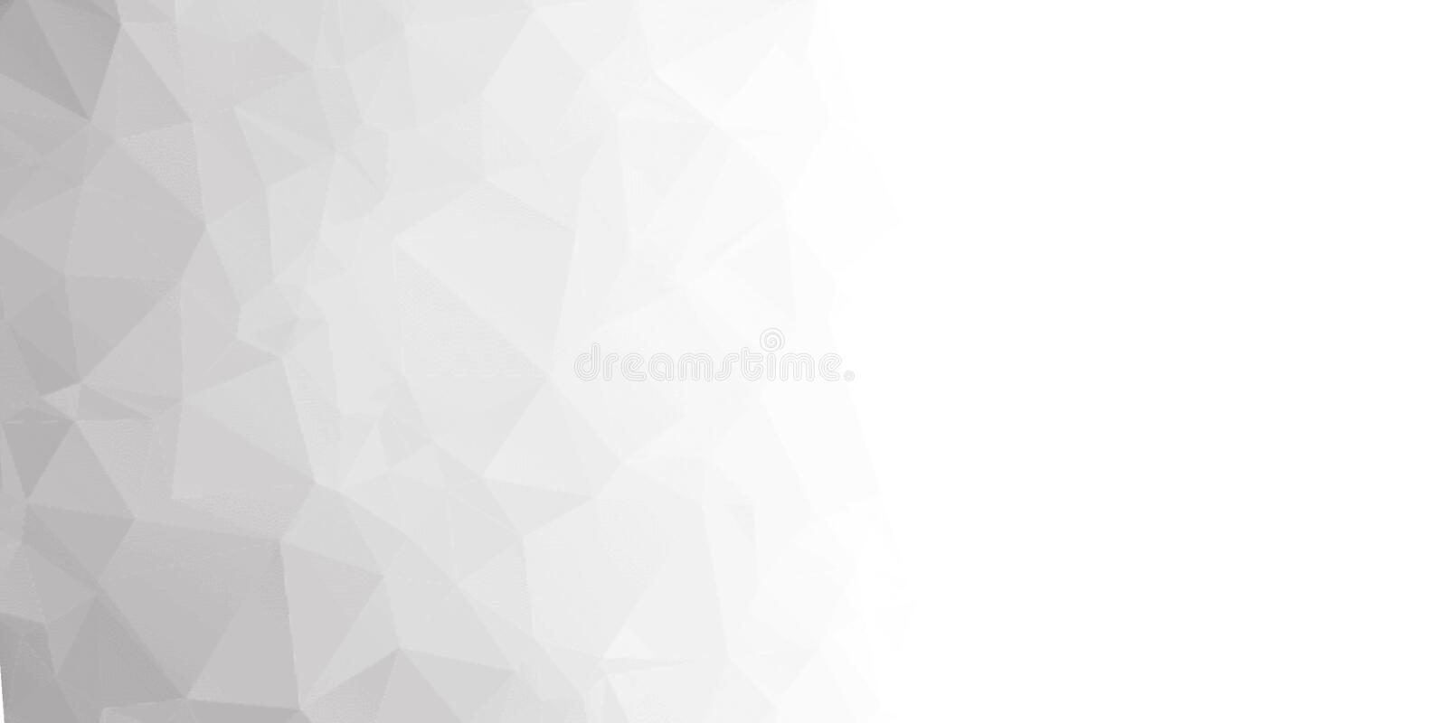 Abstraction. Background from triangles and polygons. Crumpled sheet of paper. stock photos
