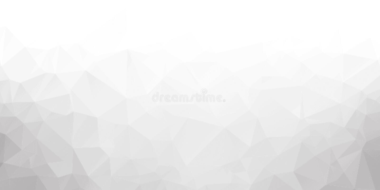 Abstraction. Background from triangles and polygons. Crumpled sheet of paper. stock photography