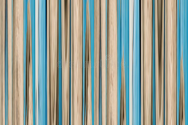 Abstraction beige blue wooden grunge background pastel tone vertical lines bamboo trunk royalty free illustration