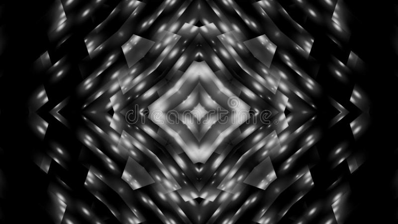 Abstraction black and white star royalty free stock images