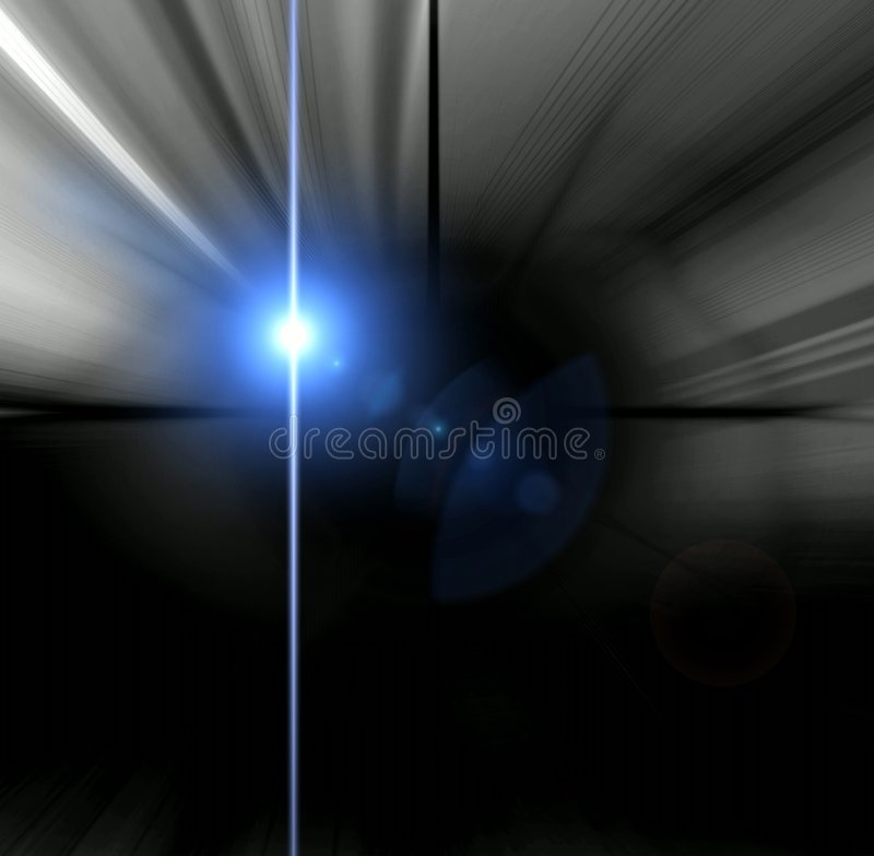 Abstraction blue light royalty free illustration