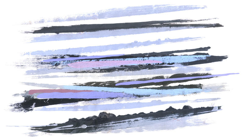 Abstraction. Brush strokes. stock image