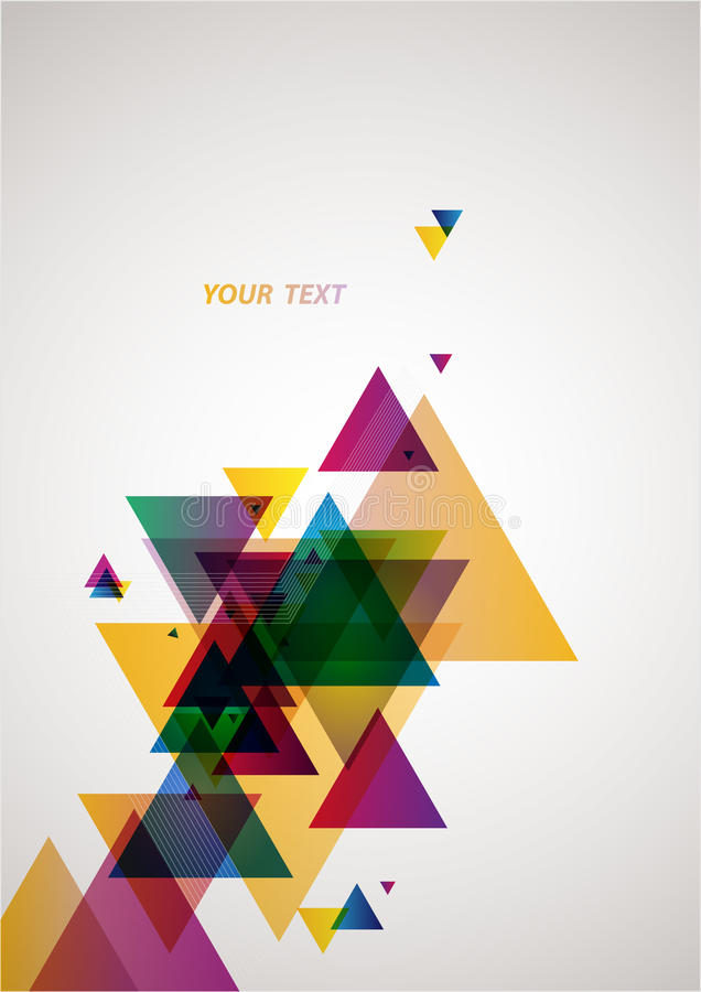Abstraction colorful background vector illustration