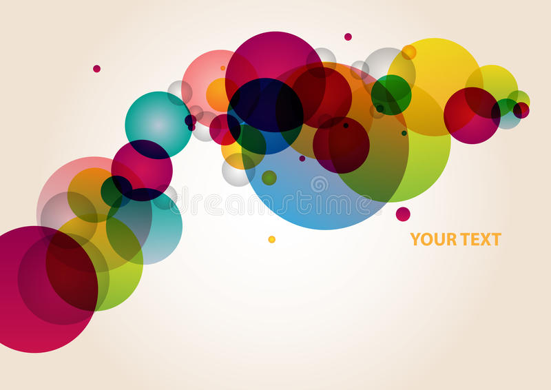 Abstraction colorful background stock illustration
