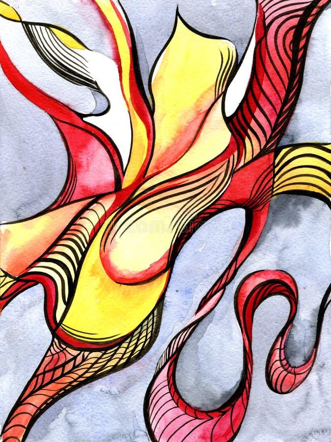 Download Abstraction D'aquarelle De Danse Illustration Stock - Illustration du créateur, illustration: 77158171