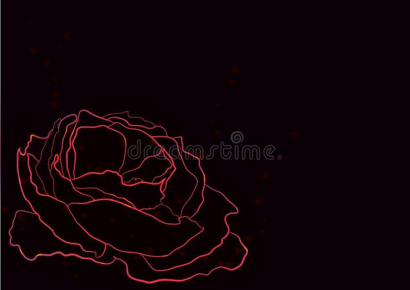 Abstraction de fleur image libre de droits