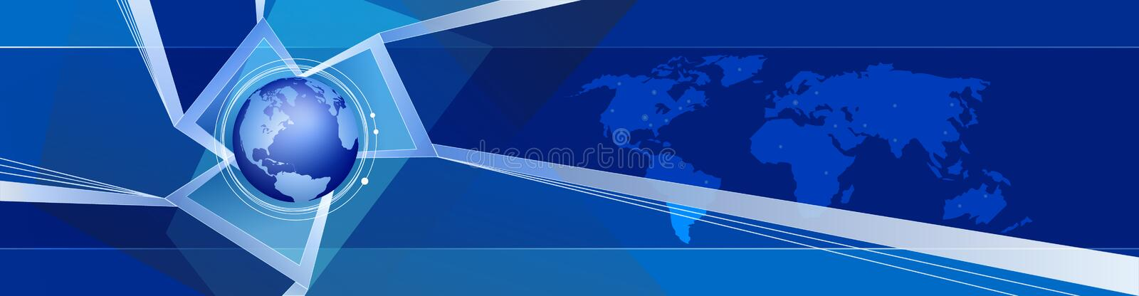Download Abstraction Design With Earth Stock Illustration - Image: 695090