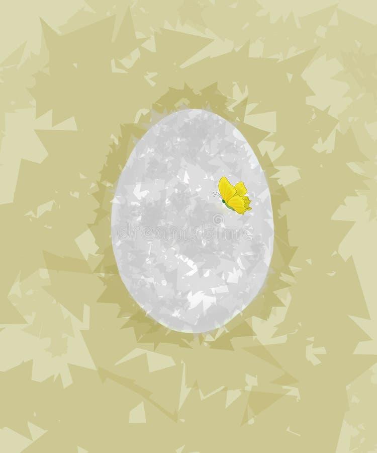 Abstraction of an egg stock photos