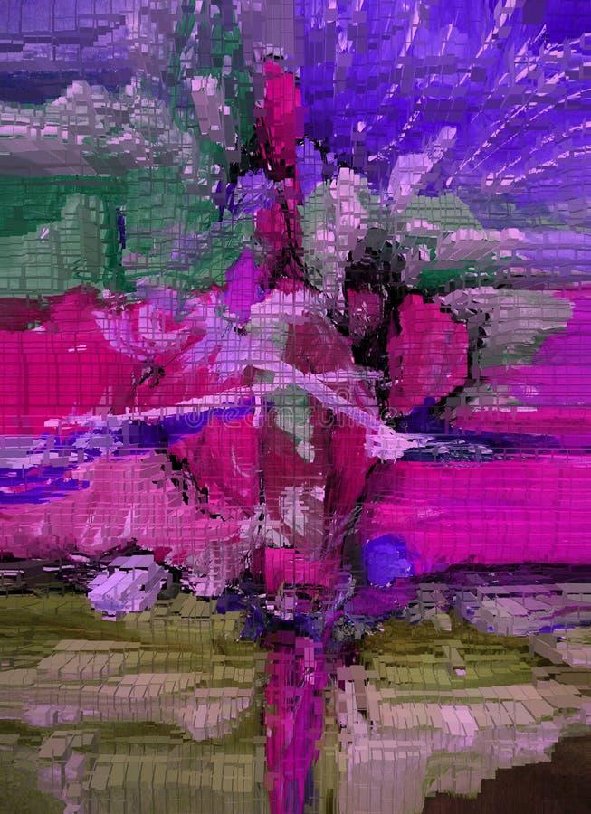 Abstraction Intérieur dessin Peinture Résumé Art illustration Conception photographie stock libre de droits