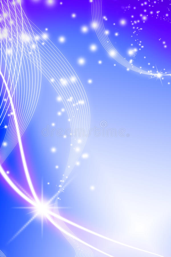 Download Abstraction lines stock illustration. Image of blue, beautiful - 22786726