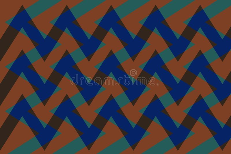 Abstraction lovely, fine, original, fair background of green, brown, dark blue colors! vector illustration
