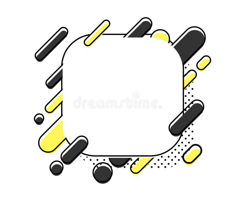 Abstraction moderne de style Illustration de vecteur illustration de vecteur