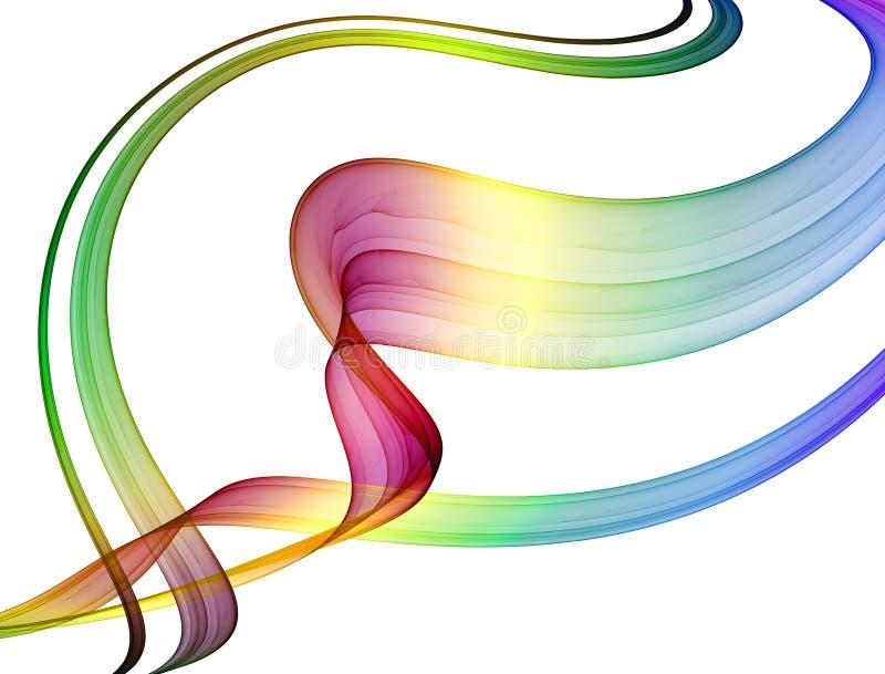 Abstraction multicolore illustration libre de droits