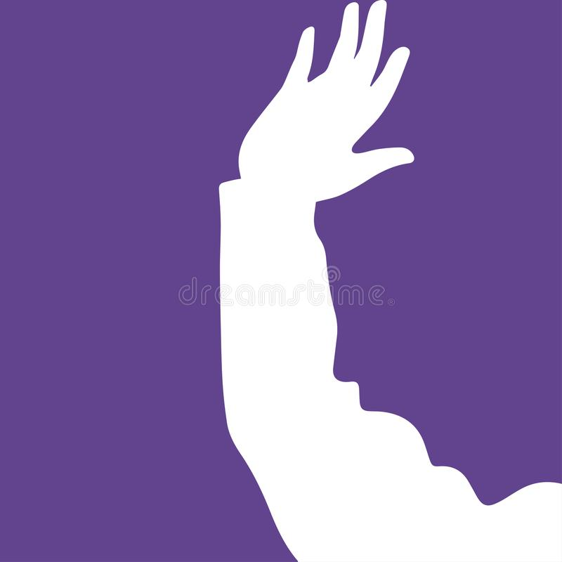 Free Abstraction Of Hands And Faces Stock Photos - 117203313