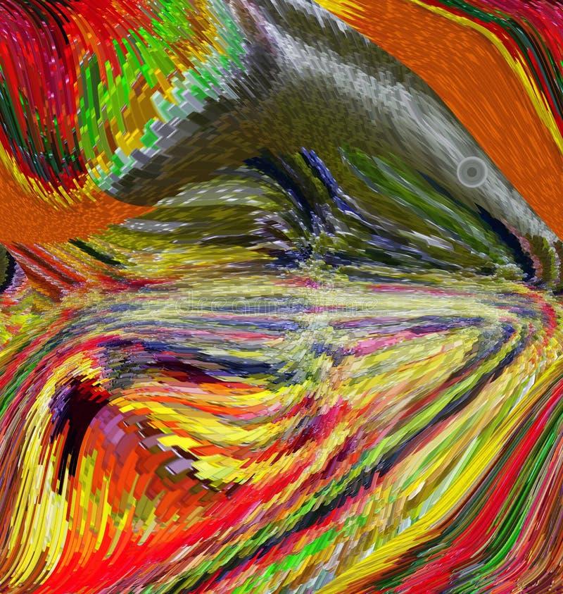 Abstraction Résumé Peinture illustration Texture texturisé unicité abstractions résumés textures coloré couleurs Grap illustration stock