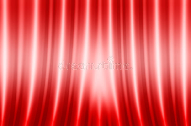 Abstraction red fabric vector illustration