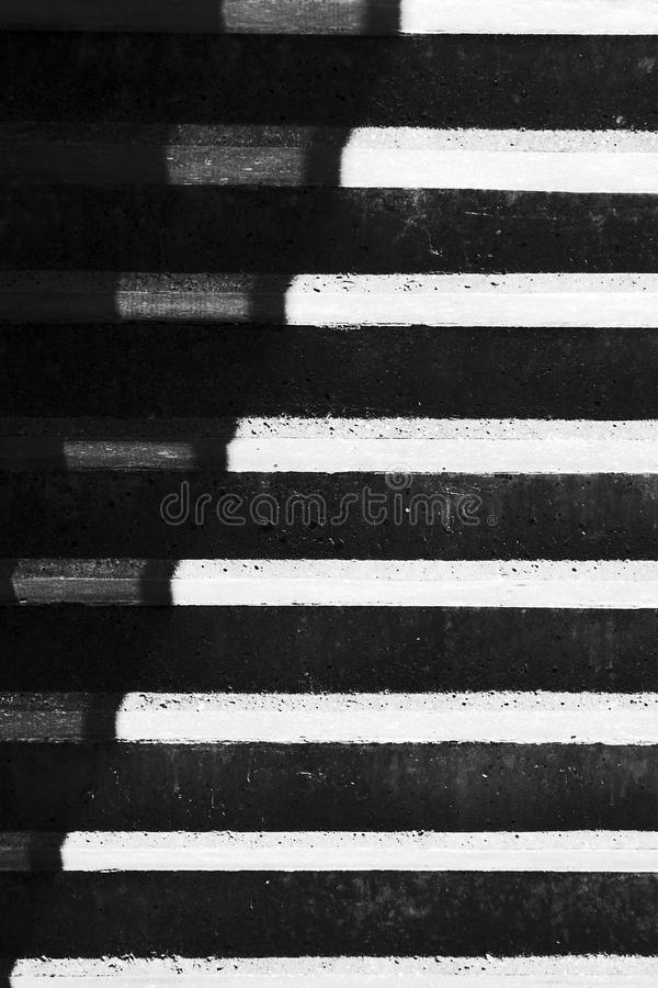 Abstraction with shadows on stair steps stock photos