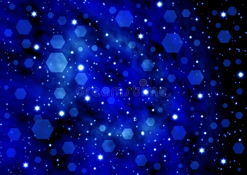Abstraction starry background royalty free illustration