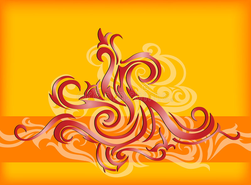Download Abstraction with swirls stock vector. Illustration of design - 3237166