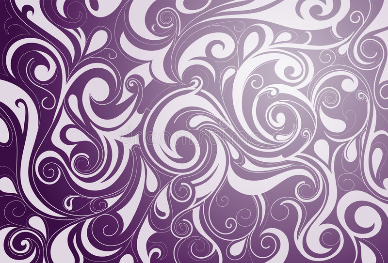 Abstraction with swirls