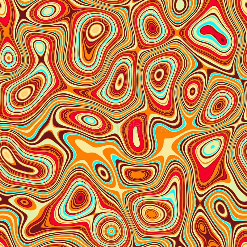 Abstraction tile texture. Abstraction yellow red tile texture royalty free illustration