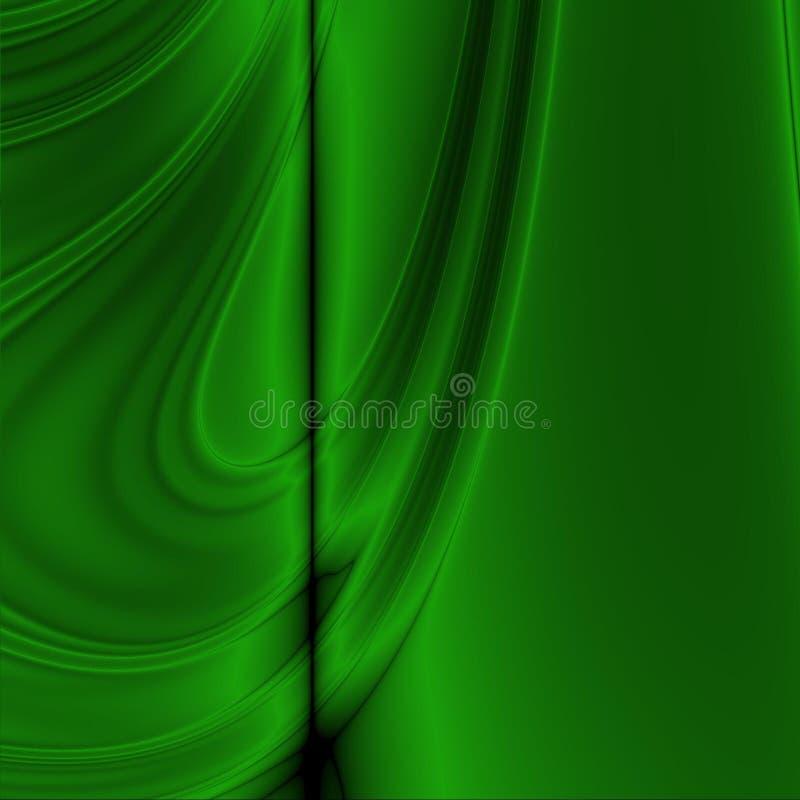 Abstraction verte illustration de vecteur