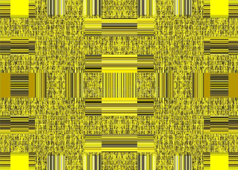 Abstraction Of A Yellow Wall Or An Iron Gate Of Spaceships