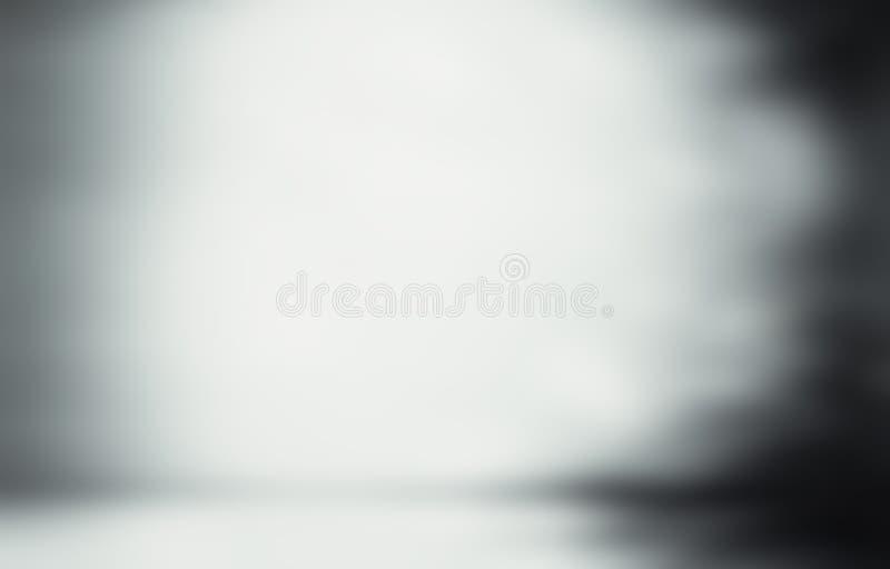Abstracto gris borroso stock de ilustración