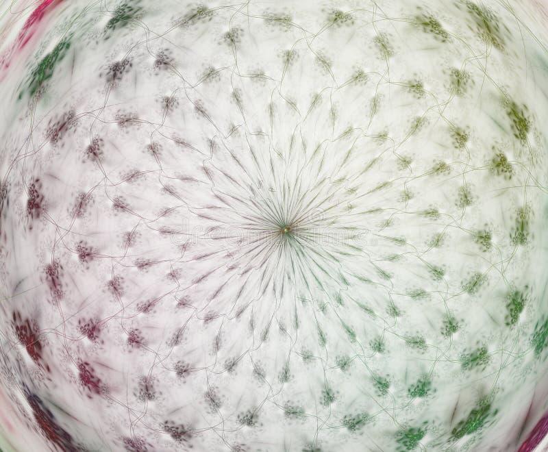 Abstraia a composi??o do fractal Ilustração do movimento para o projeto Arte do Fractal do fundo de Big Bang do Fractal ilustração do vetor