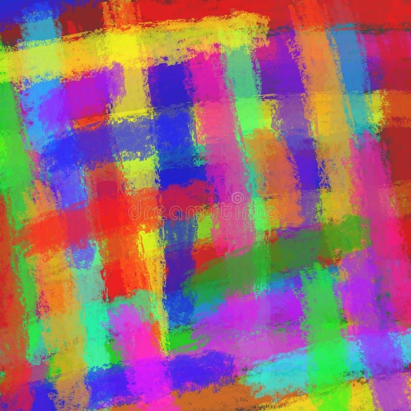 Abstraia a ilustração colorida ilustração do vetor