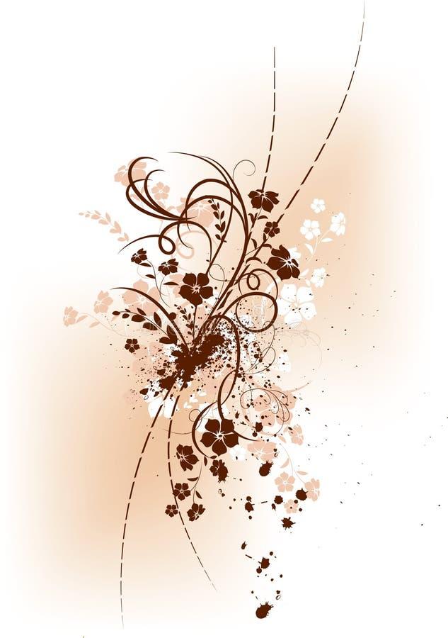 Abstraia o fundo. ilustração stock