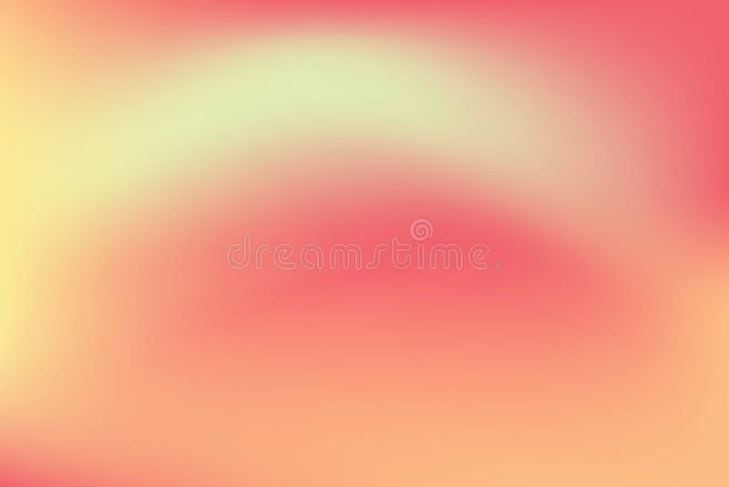 Abstraia o fundo borrado da malha do inclinação em cores brilhantes do arco-íris Molde liso colorido da bandeira ilustração royalty free