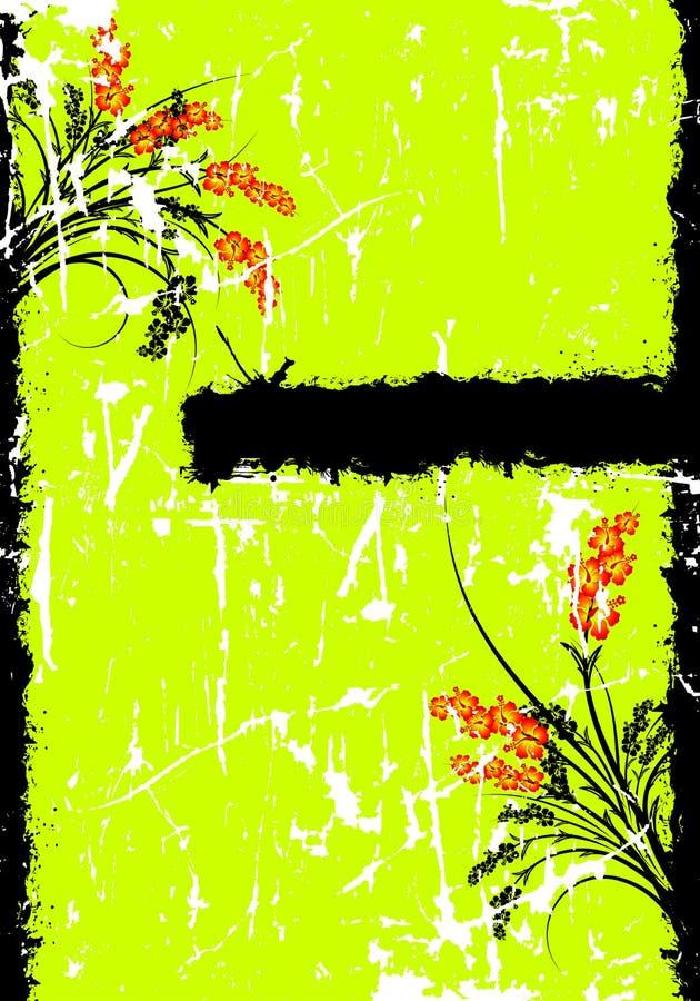 Abstraia o fundo de Grunge ilustração royalty free