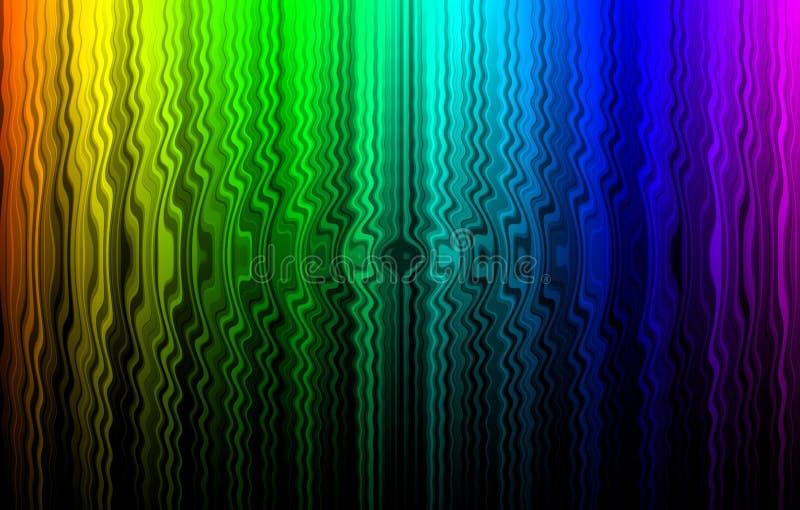 Abstraia o fundo de testes padrões coloridos. ilustração royalty free