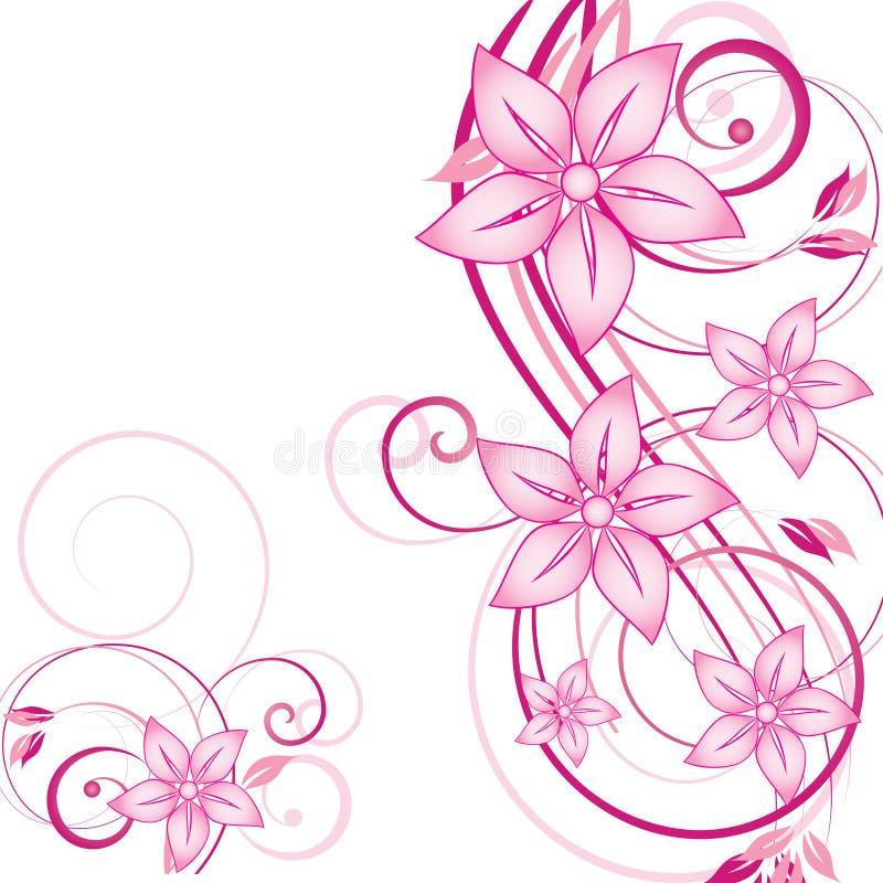 Download Abstraia o fundo floral ilustração do vetor. Ilustração de sumário - 12800267