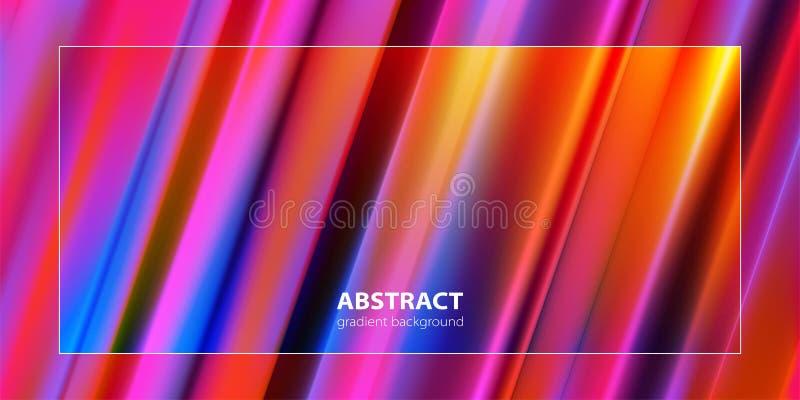 abstraia o fundo Linha na moda composição do inclinação Vetor ilustração do vetor