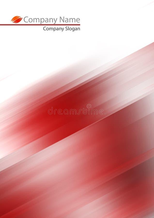 Abstraia o fundo macio vermelho ilustração royalty free