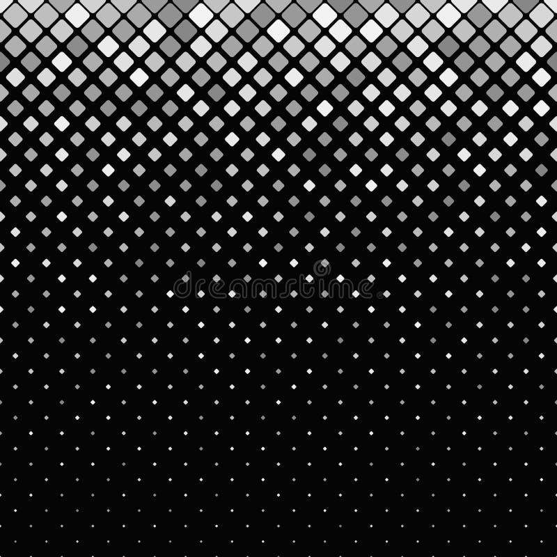 Abstraia o fundo quadrado arredondado do teste padrão - vector o projeto ilustração do vetor