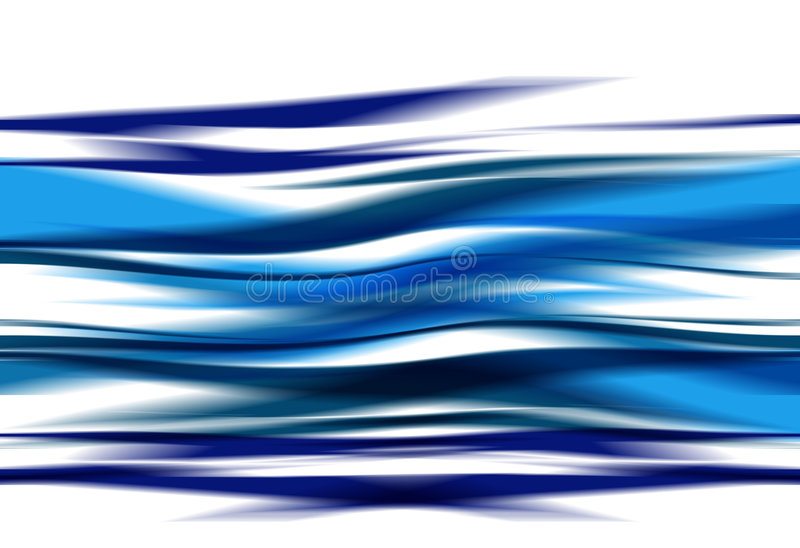 Abstraia ondas ilustração royalty free