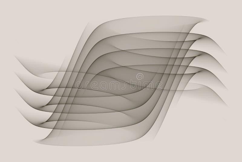 Abstraia ondas imagem de stock