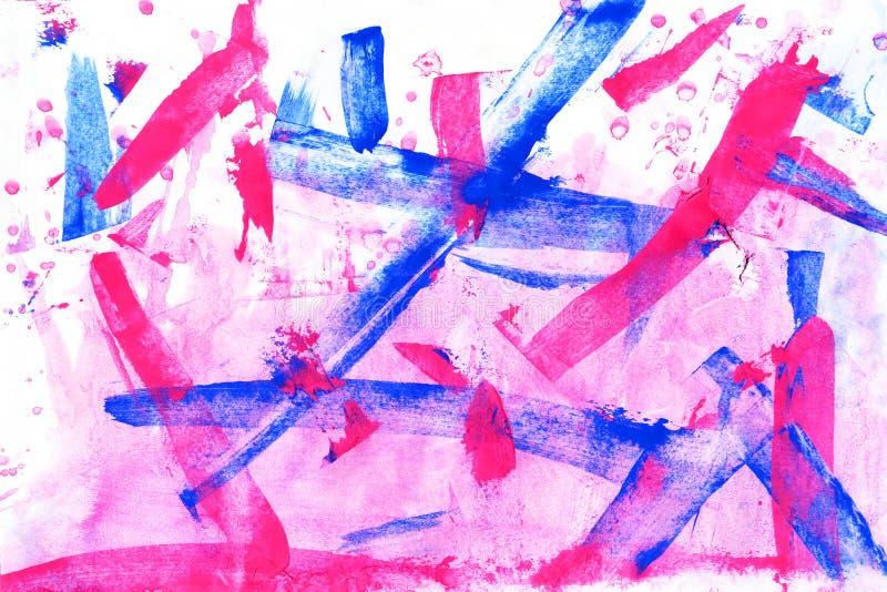 abstraiga el fondo acrylic libre illustration