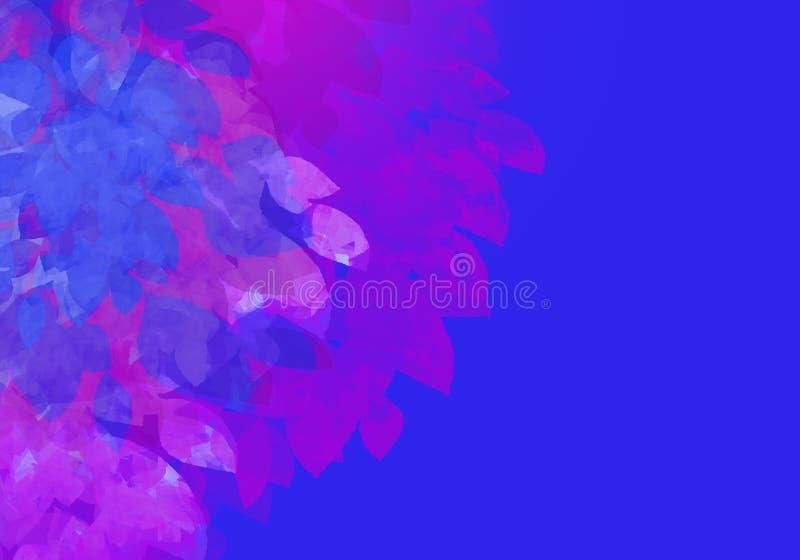 Abstraiga el fondo colorido de la acuarela Pintura del arte de Digitaces ilustración del vector