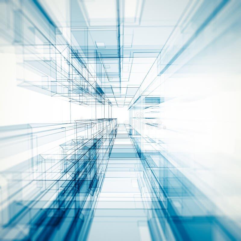 Download Abstraiga El Fondo De La Configuración Stock de ilustración - Ilustración de vibrante, edificio: 42439926